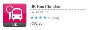 Aplicativo UK Bus Checker